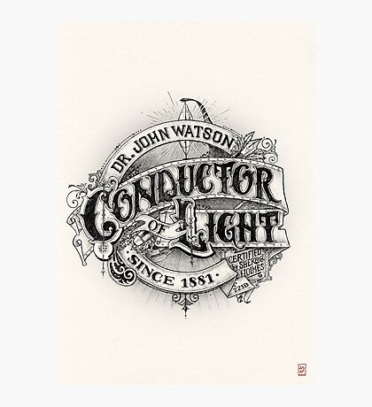 Conductor of Light Photographic Print