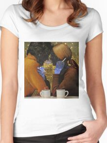 A DATE ... Women's Fitted Scoop T-Shirt
