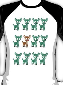 LOOK! It's Rudolph! v2(Green) T-Shirt