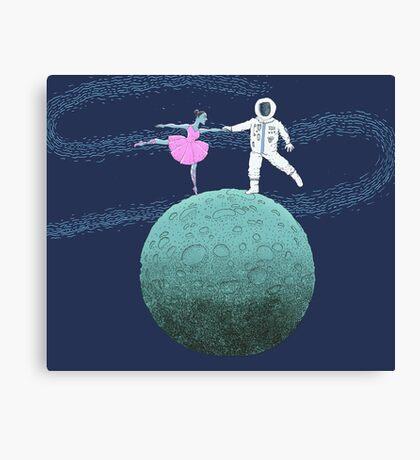 Blue Moon Dance  Canvas Print