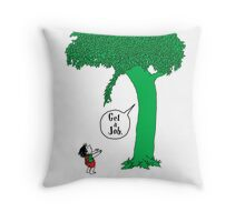 The Keeping Tree Throw Pillow