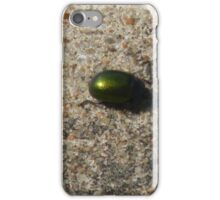 Green Bug iPhone Case/Skin