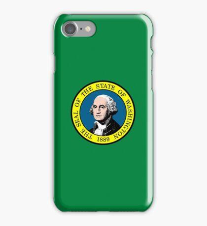 Flag of Washington State iPhone Case/Skin