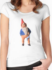 Franky the Gnome Women's Fitted Scoop T-Shirt