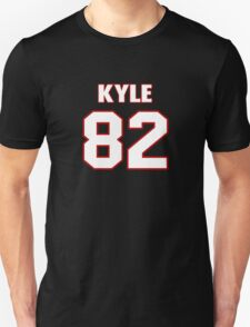 NFL Player Kyle Rudolph eightytwo 82 T-Shirt