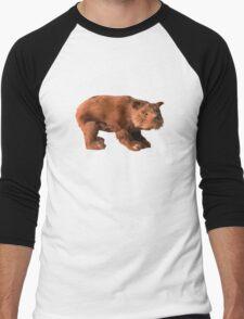 Milton the Bear Men's Baseball ¾ T-Shirt