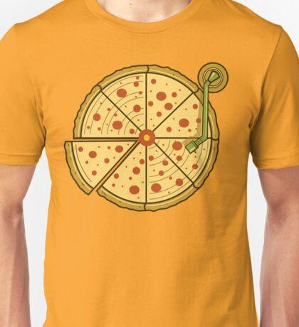 Pizza Vinyl Unisex T-Shirt