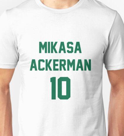 mikasa ackerman 10 Unisex T-Shirt