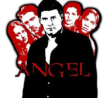 Angel Investigations: Black & Red by Vixetches