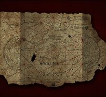 Goonies Treasure Map by Indestructibbo