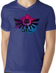 Majora's Crest 2 Mens V-Neck T-Shirt