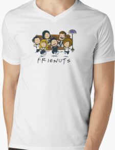 Frienuts Mens V-Neck T-Shirt