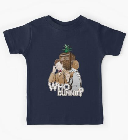 Who Dunnit? Psych Doctor Who Kids Clothes