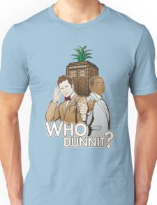 Who Dunnit? Psych Doctor Who Unisex T-Shirt