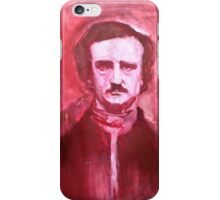 Edgar Allan Poe Painting. iPhone Case/Skin