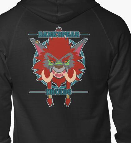 Darkspear Druids Sports Logo Zipped Hoodie