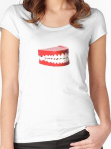 Harold the Chatter Mouth Women's Fitted Scoop T-Shirt
