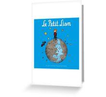 Le Petit Lion Greeting Card