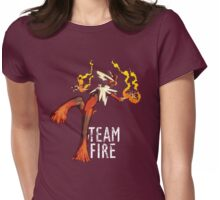Team Fire - Mega Blaziken Womens Fitted T-Shirt