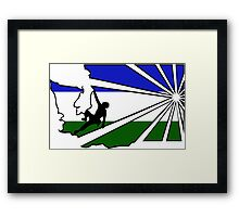 Washington Climbers Framed Print
