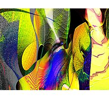 Three Layer Blender #1: Kneeling Woman abstract (UF0359)  Photographic Print