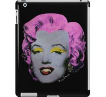 Vampire Marilyn variant 2 iPad Case/Skin