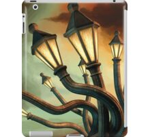 Drunk Streetlamps iPad Case/Skin