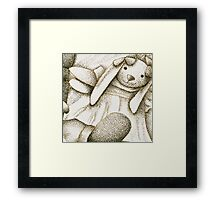 Stipple Still Life Framed Print