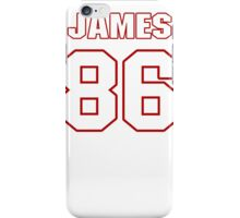 NFL Player James Wright eightysix 86 iPhone Case/Skin