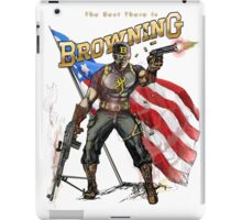 Captain Browning iPad Case/Skin