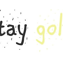 Stay Gold, Ponboy by bee833
