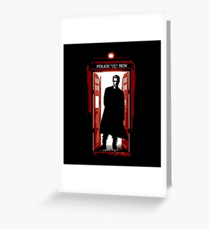William the Bloody Doctor Greeting Card