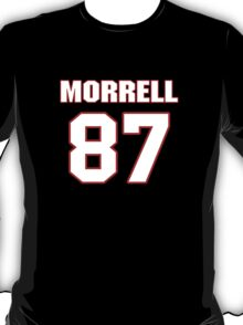 NFL Player Morrell Presley eightyseven 87 T-Shirt