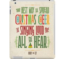 Buddy the Elf - Christmas Cheer iPad Case/Skin