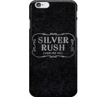 Silver Rush (Grunge) iPhone Case/Skin