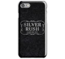 Silver Rush (Grunge) iPhone Case/Skin