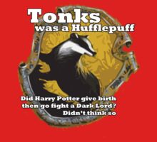 Tonks was a Hufflepuff Kids Clothes