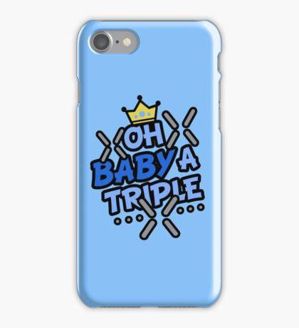 OH BABY A TRIPLE iPhone Case/Skin