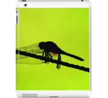 Dragonfly Silhouette iPad Case/Skin