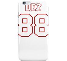 NFL Player Dez Bryant eightyeight 88 iPhone Case/Skin