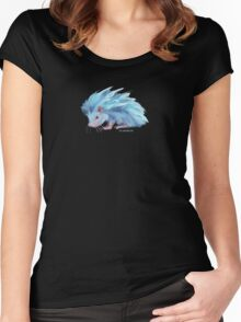 Ice Hedgehog Women's Fitted Scoop T-Shirt