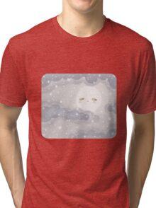 Cute Sky 12- Winter Tri-blend T-Shirt
