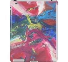 """Swooping"" original abstract artwork by Laura Tozer iPad Case/Skin"
