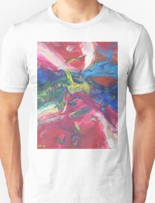 """""""Swooping"""" original abstract artwork by Laura Tozer Unisex T-Shirt"""