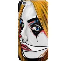 Clown-Girl iPhone Case/Skin