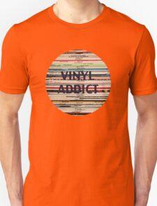 Vinyl Addict records Unisex T-Shirt