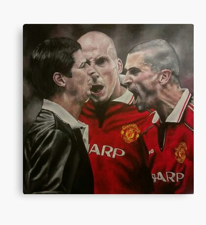 Manchester United Offer Referee Constructive Feedback Canvas Print