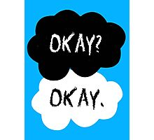 The Fault In Our Stars - Okay Photographic Print