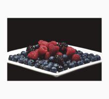 Berries on a plate Kids Tee