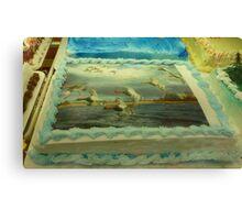 Duck Cake Canvas Print